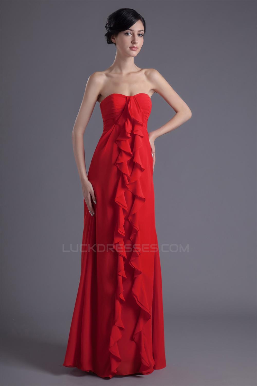 Chiffon cascading ruffles long red bridesmaid dresses 02010214 wholesale chiffon cascading ruffles long red bridesmaid dresses 02010214 ombrellifo Choice Image