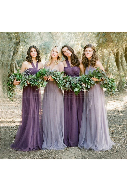 5a87be9ff0e3 Purple Floral Bridesmaid Dresses | Saddha