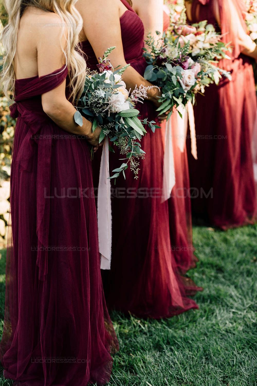 Long burgundy wedding guest dresses bridesmaid dresses 3010194 for Bridesmaid dresses for wedding