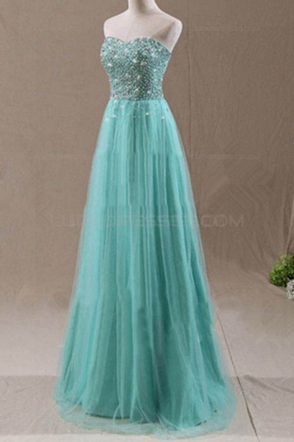 Navy Blue Color Code >> A-Line Sweetheart Beaded Long Wedding Guest Dresses ...