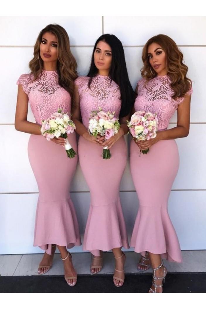 Mermaid Lace Bridesmaid Dresses 3010404