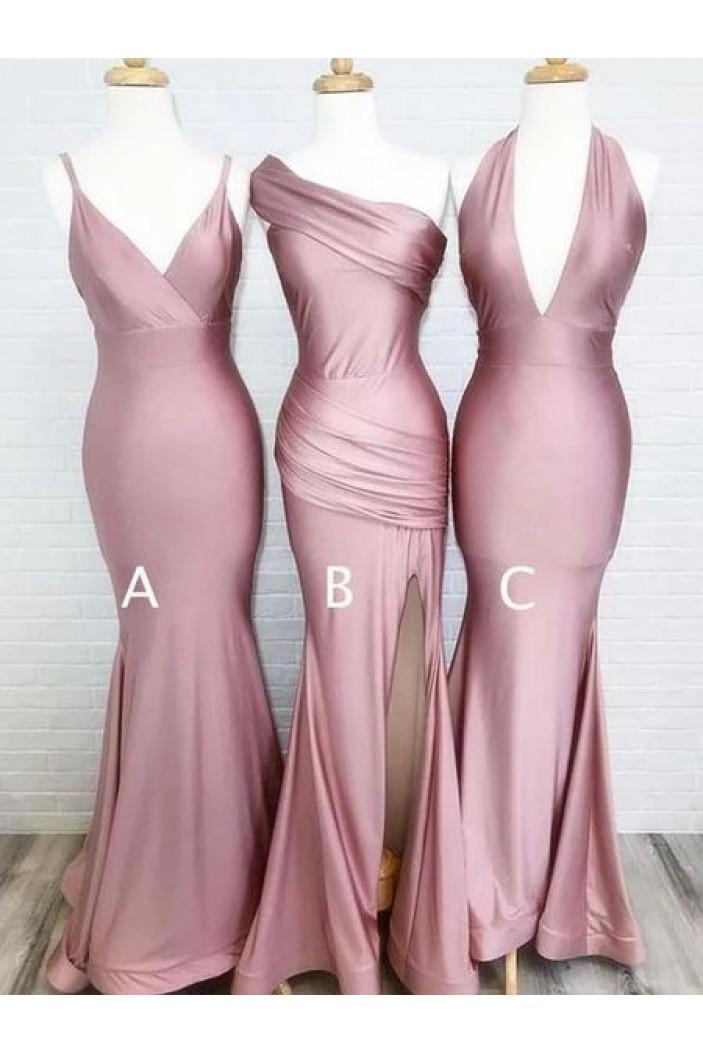 Mermaid Floor Length Bridesmaid Dresses 3010457