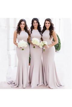 Mermaid Long Floor Length Bridesmaid Dresses 3010489