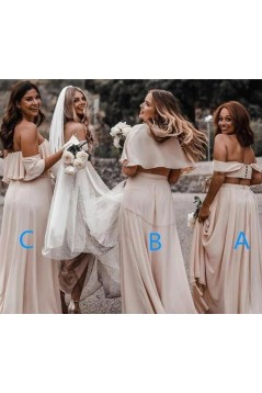 Affordable Long Floor Length Bridesmaid Dresses 3010493