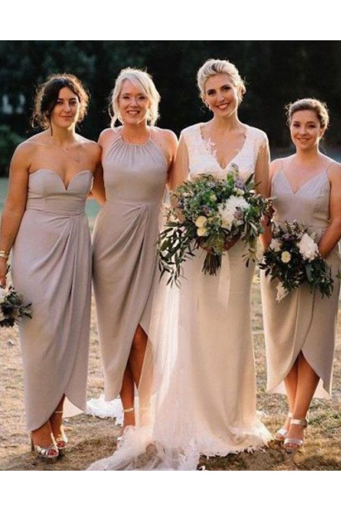 Sheath Chiffon Wedding Party Dresses Bridesmaid Dresses 3010520