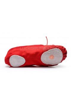 Women's Kids' Red Canvas Dance Shoes Ballet/Latin/Yoga/Dance Sneakers Canvas Flat Heel D601042