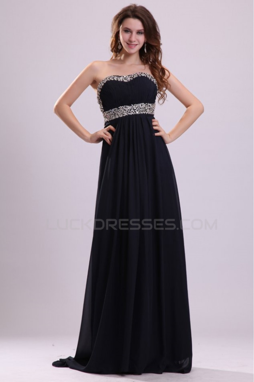Sweetheart long beaded chiffon prom evening formal party dresses empire sweetheart long beaded chiffon prom evening formal party dressesmaternity evening dresses ed010011 ombrellifo Choice Image