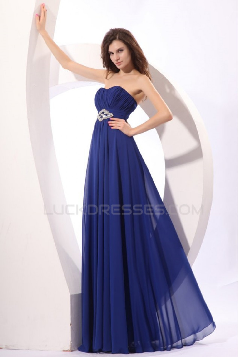 Blue chiffon prom evening formal party dressesmaternity evening long blue chiffon prom evening formal party dressesmaternity evening dresses ed010045 ombrellifo Choice Image