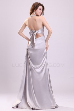 Long Halter Prom Evening Formal Party Dresses ED010101