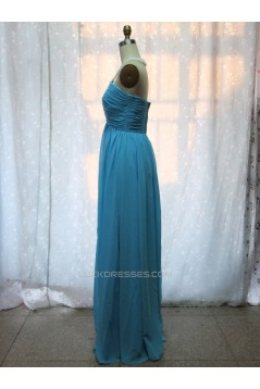 A-Line Halter Beaded Long Chiffon Prom Evening Formal Dresses ED011131