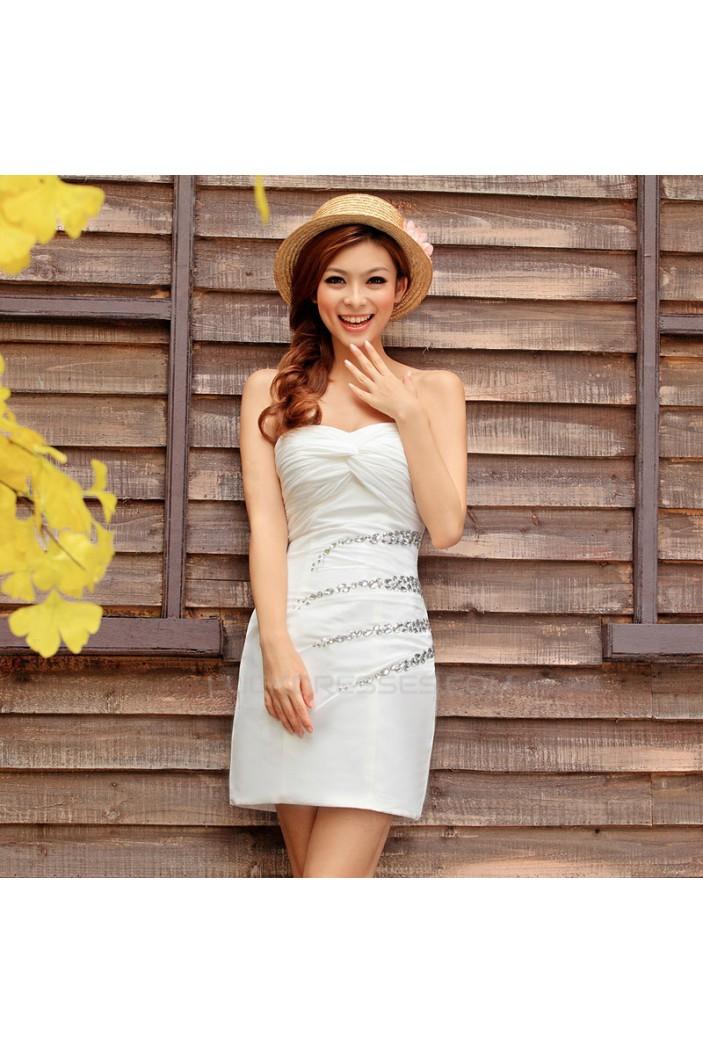 Short/Mini Sweetheart Beaded Prom Evening Formal Dresses ED011342