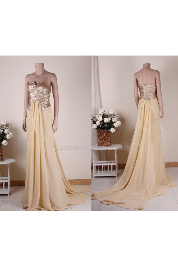 A-Line Long Prom Evening Formal Dresses ED011460