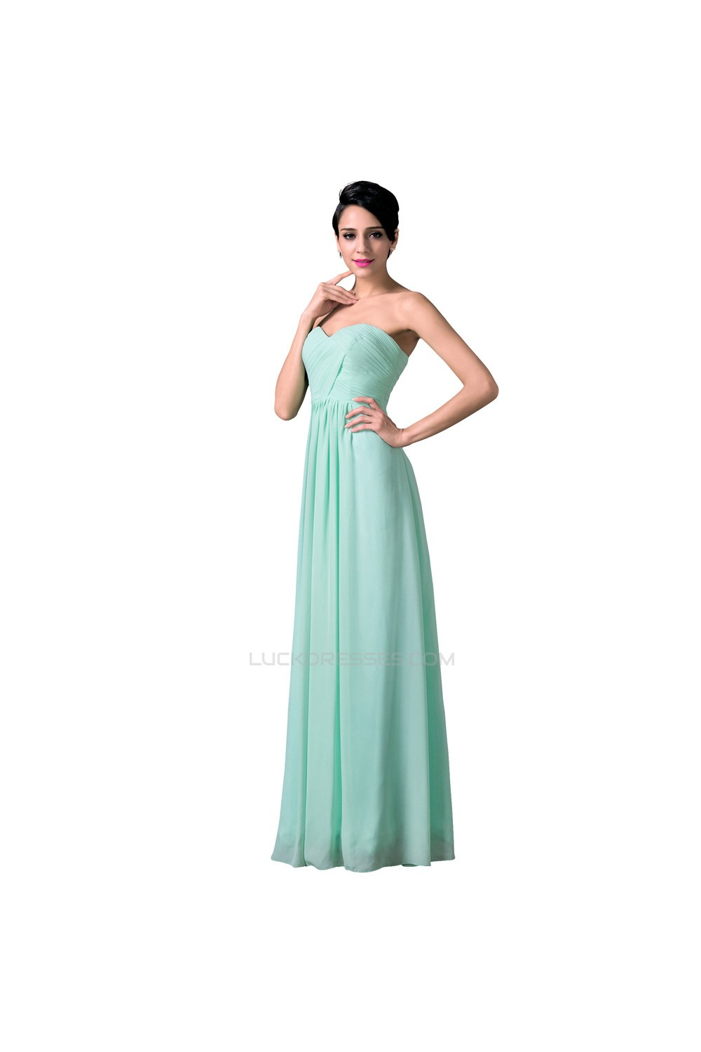 Line sweetheart long mint green chiffon prom evening bridesmaid a line sweetheart long mint green chiffon prom evening bridesmaid dresses ed011648 ombrellifo Image collections