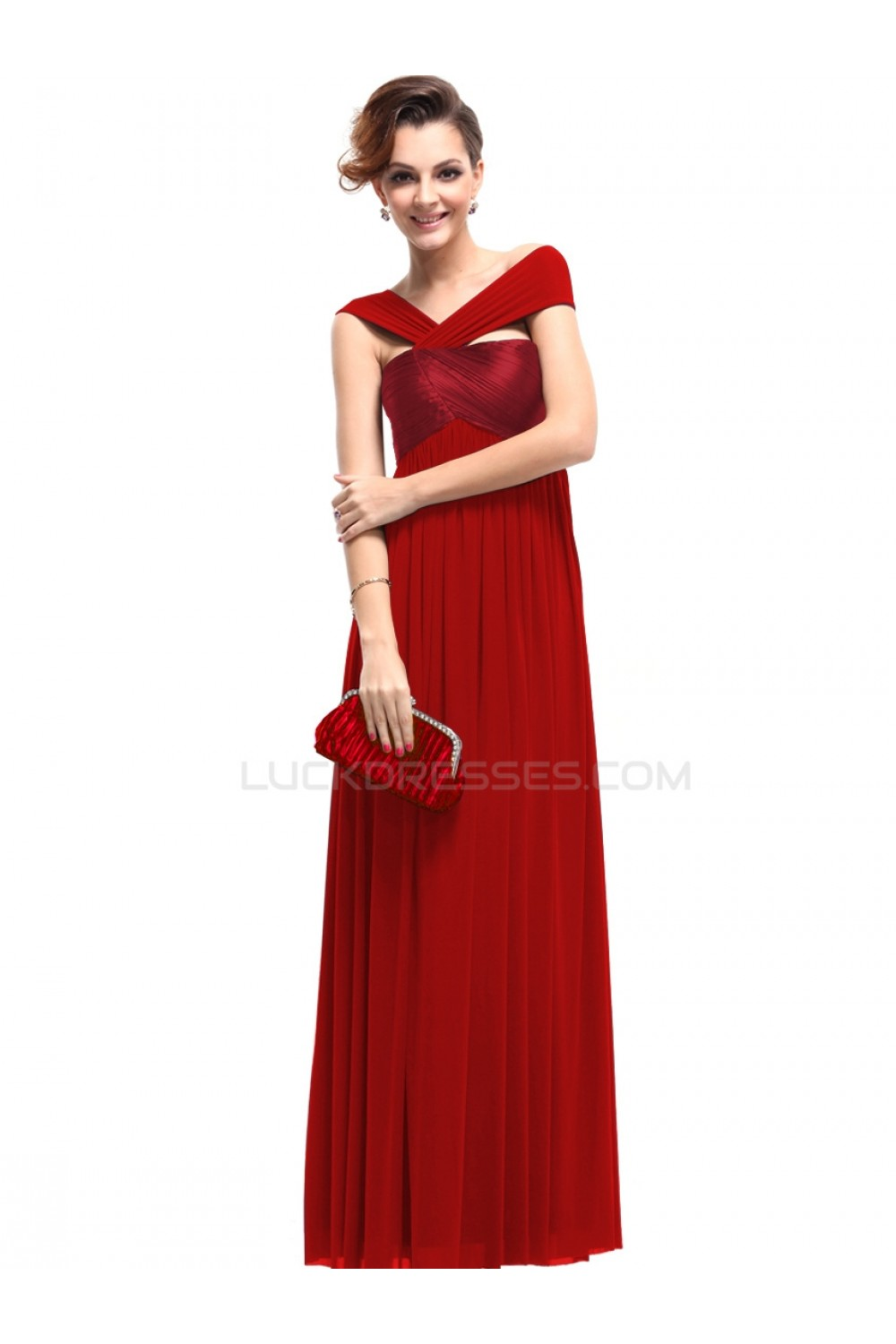 638d32c966c61 Long Red Prom Evening Formal Party Dresses/Maternity Evening ...
