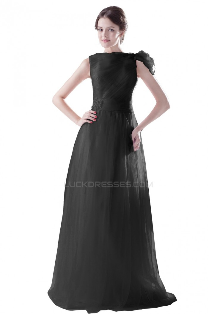 Long Black Prom Evening Formal Party Dresses ED010308