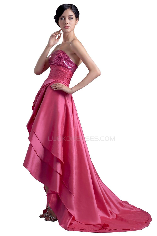 Atractivo High Low Dresses For Prom Patrón - Colección de Vestidos ...