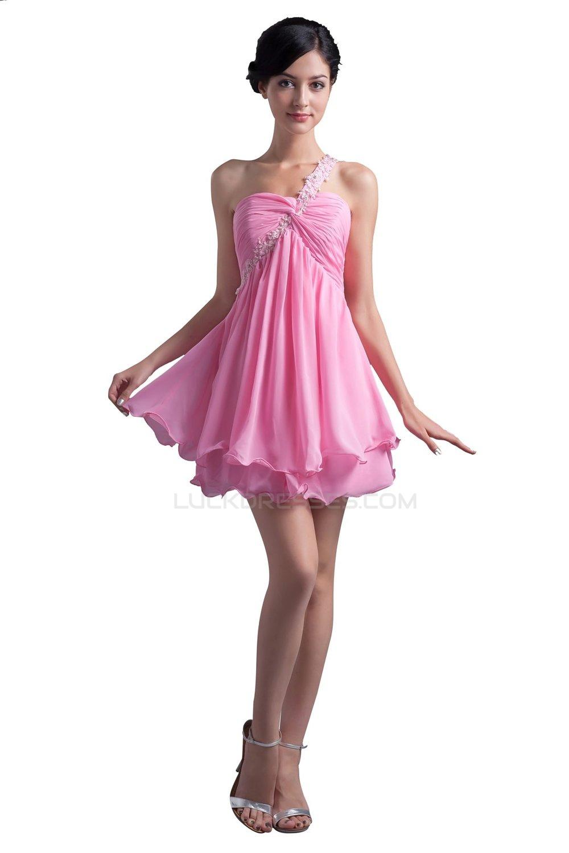 4f8caa08416 Pink Prom Dresses Short