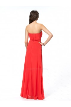 Empire Sweetheart Long Chiffon Prom Evening Formal Party Dresses/Maternity Evening Dresses ED010553
