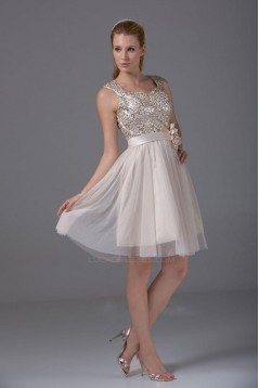 Short Sequin Cocktail Homecoming Prom Evening Dresses ED010790