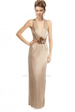 Sheath/Column Long Prom Evening Formal Dresses ED010950