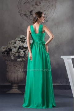 Empire Sleeveless Beading Chiffon Long Prom/Formal Evening Maternity Dresses 02020030