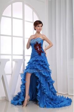 Beading Silk like Satin Korea Yarn Sweetheart Prom/Formal Evening Dresses 02020088