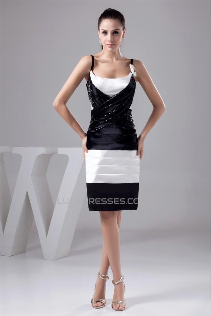 Satin Silk like Satin Sheath/Column Bateau Prom/Formal Evening Dresses 02021345