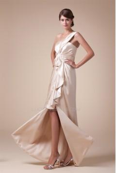 Ruffles One-Shoulder Sleeveless A-Line Floor-Length Prom/Formal Evening Dresses 02020256