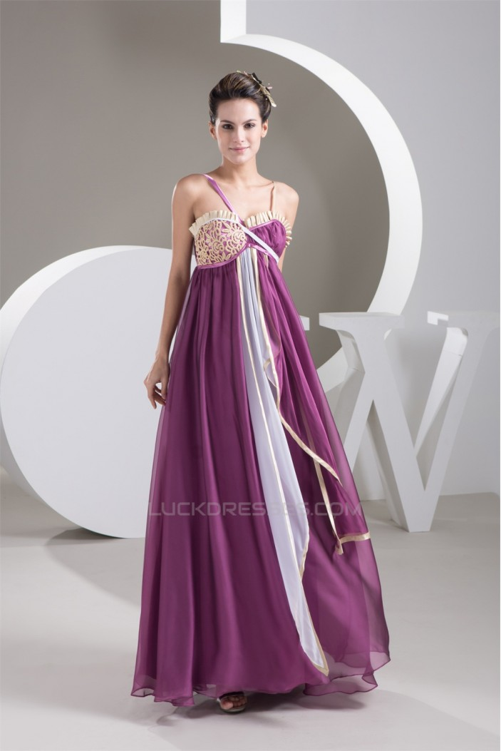 Empire Floor Length Sweetheart Draped Sleeveless Prom