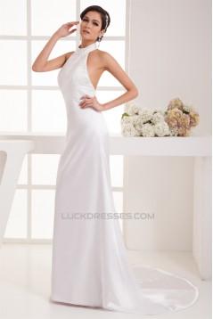 Beading Halter Trumpet/Mermaid Prom/Formal Evening Dresses 02020483