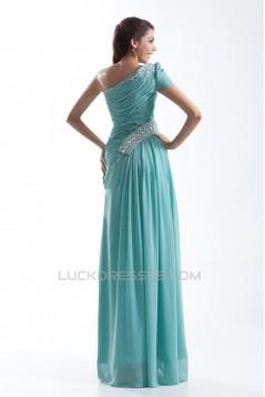 Beading Sheath/Column One-Shoulder Floor-Length Prom/Formal Evening Dresses 02020667