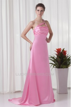 A-Line Brush Sweep Train Prom/Formal Evening Dresses 02020873
