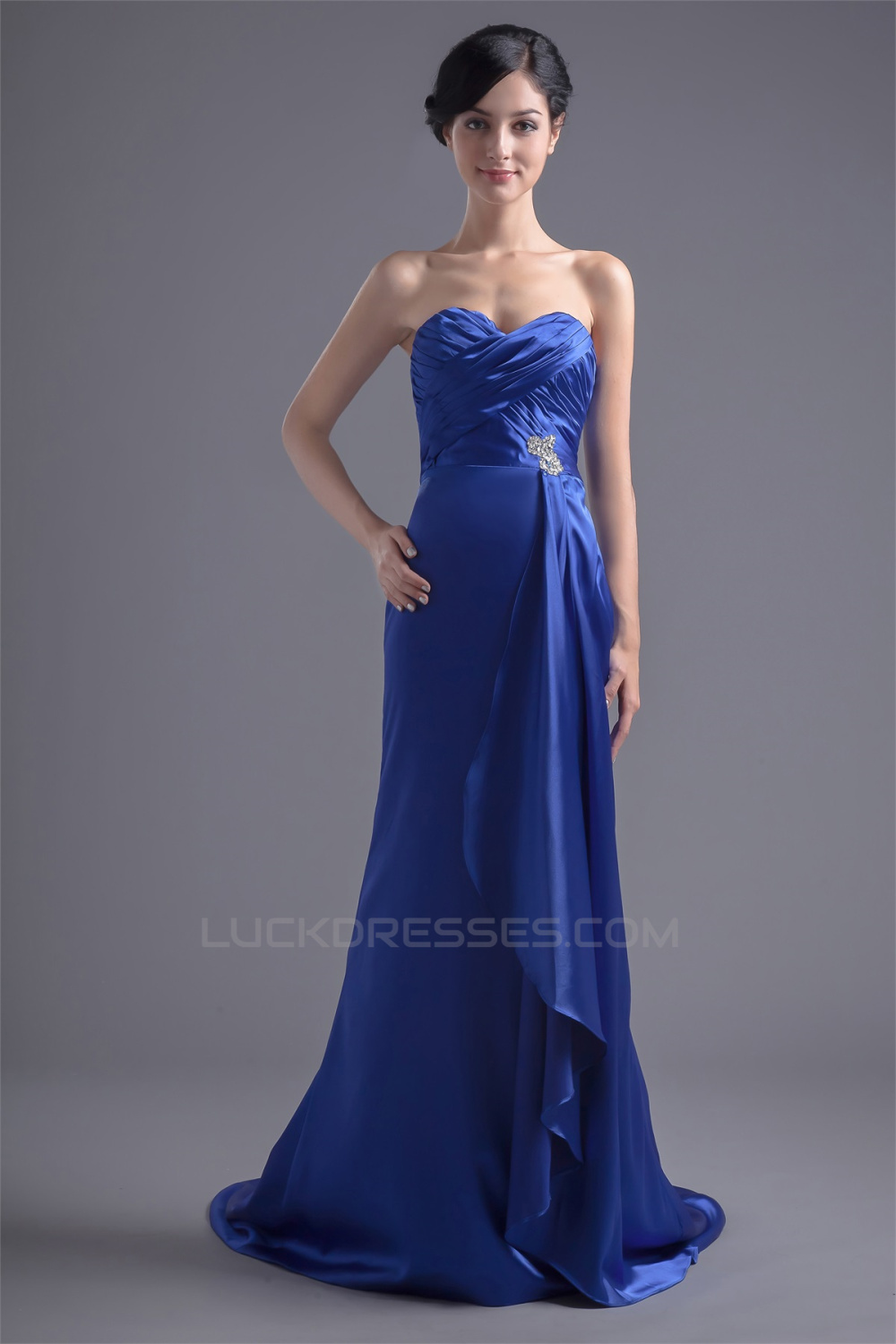 Satin Woven bridesmaid homecoming dresses