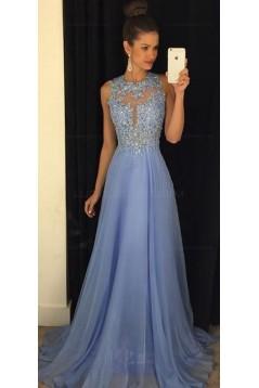 f7bd42cf1c Beaded Chiffon Lace Long Prom Evening Formal Dresses 3020034