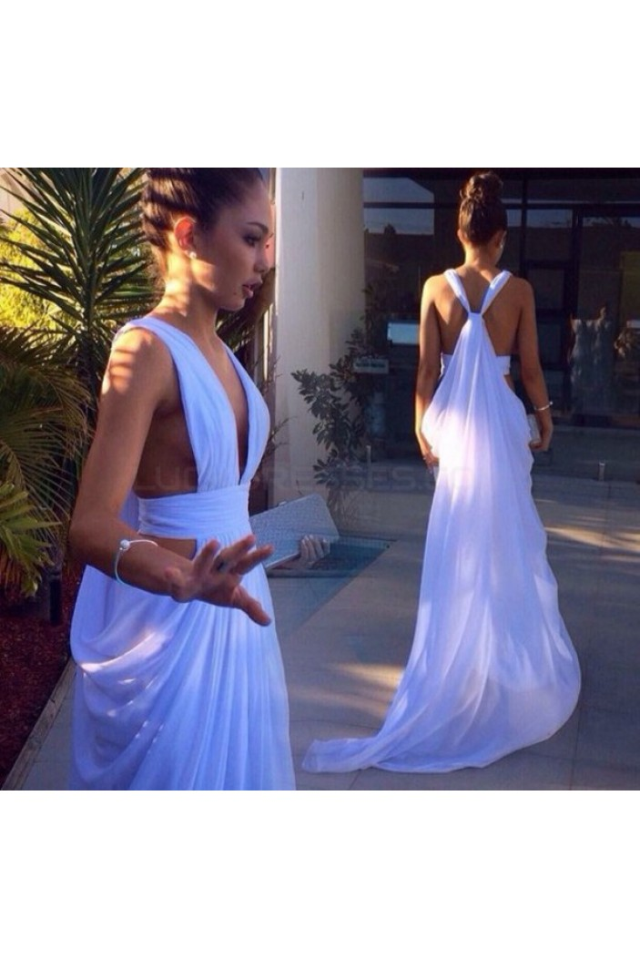Long Chiffon Prom Formal Evening Party Dresses 3021019