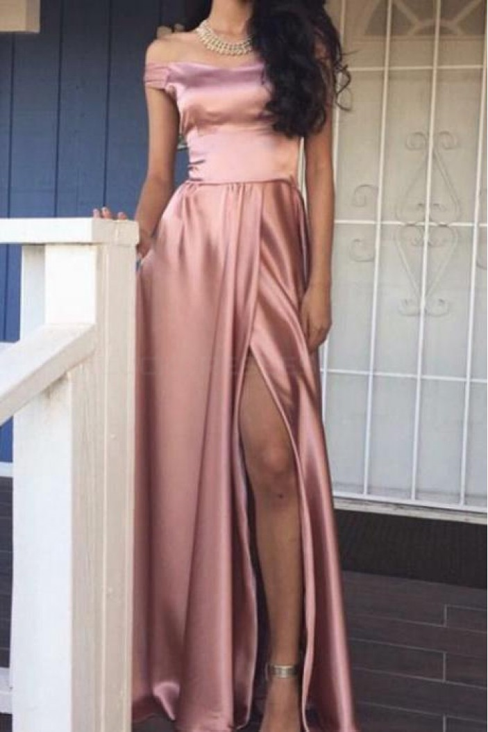 Long Off-the-Shoulder Prom Formal Evening Party Dresses 3021036