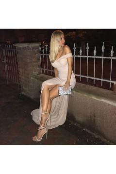 Elegant Mermaid Off-the-Shoulder Long Prom Evening Formal Dresses 3021545