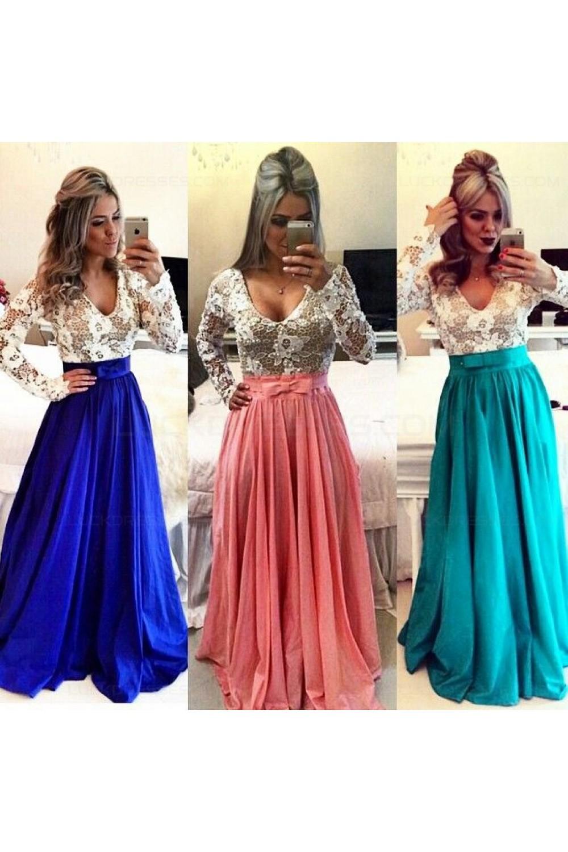 Blue White Cocktail Dresses