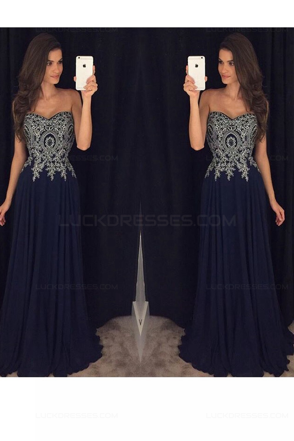 To acquire Silver and Black sweetheart prom dresses pictures picture trends