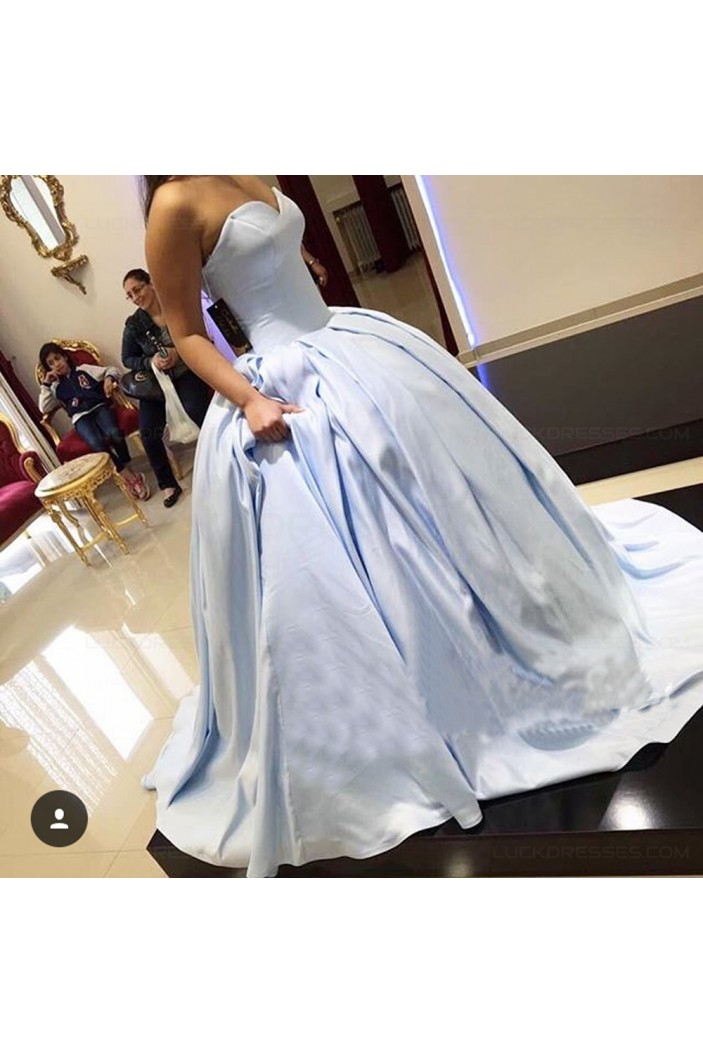 Ball Gown Sweetheart Long Prom Dresses Party Evening Gowns 3020398