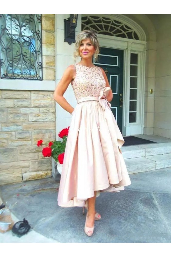 Elegant High Low Mother of The Bride Dresses Evening Gowns 3020849