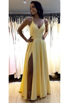 A-Line Simple Stunning Long Prom Dresses Evening Gowns 601376