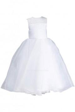 Ball Gown Beaded Flower Girl Dresses F010012