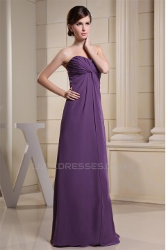 Elegant Sweetheart Floor-Length 3/4 Sleeve Chiffon Mother of the Bride Dresses with A Jacket 2040002