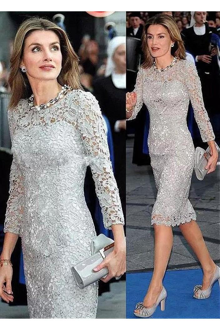 Elegant Lace Mother of The Bride Dresses 602079