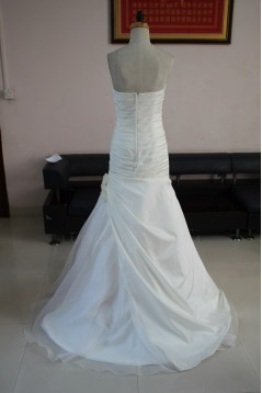 Trumpet/Mermaid Sweetheart Bridal Wedding Dresses WD010080