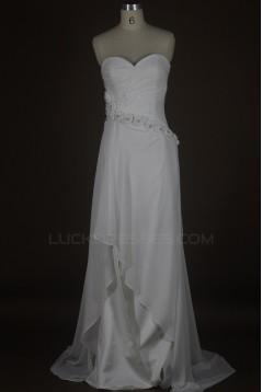 Sheath/Column Sweetheart Bridal Wedding Dresses WD010102