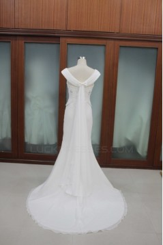 Sheath/Column Bridal Wedding Dresses WD010114