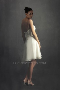 A-line Sweetheart Short Bridal Wedding Dresses WD010329