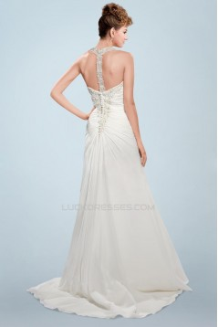 Elegant Beaded Bridal Wedding Dresses WD010344